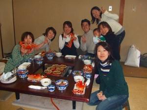 天橋立へ 蟹と研修旅行3