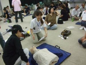 AED(心肺蘇生)講習会